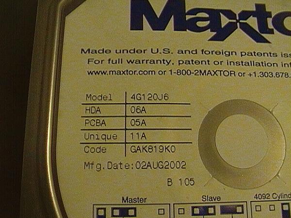 [RG + sped] Scheda di hard disk Maxtor-1.jpg