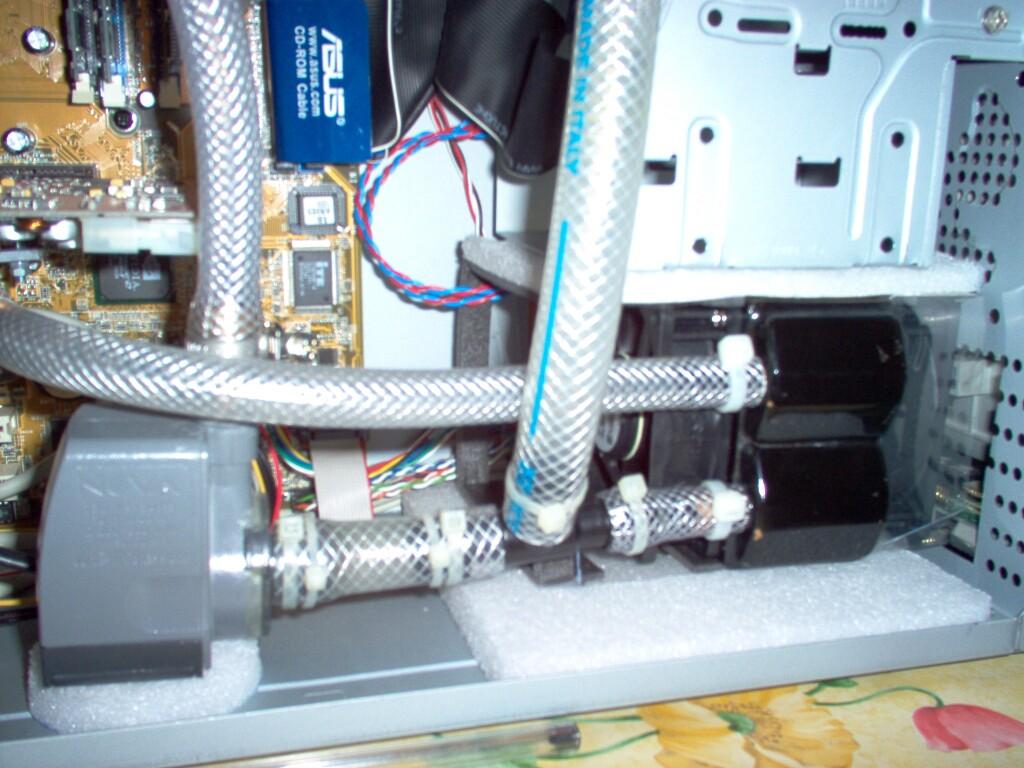 Liquid cooling impianto vecchio stile for Cabine vecchio stile