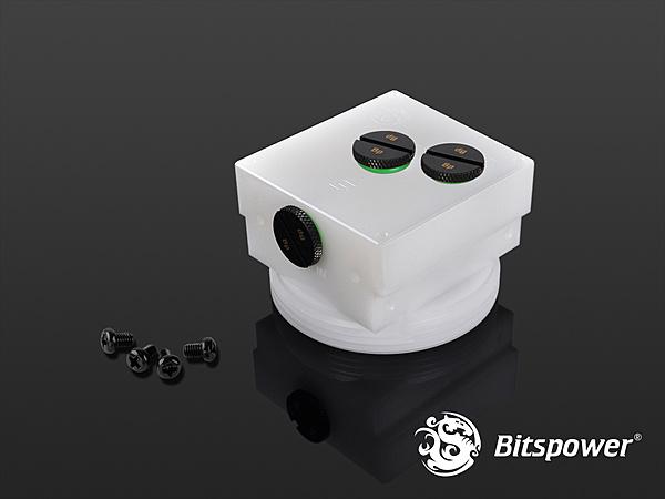 """Bitspower D5 MOD TOP  (White """"S"""" Model)-bp-d5topps-wh-1024x768-2.jpg"""