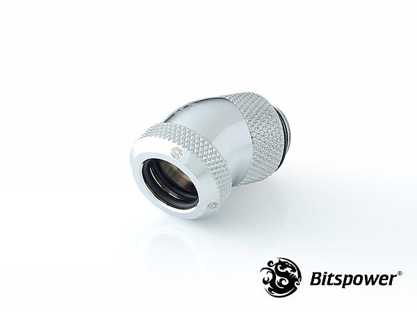 """Bitspower Enhance Rotary G1/4"""" 30/45/60/90-Degree Multi-Link Adapter.-bp-e30rml-1024x768-2.jpg"""