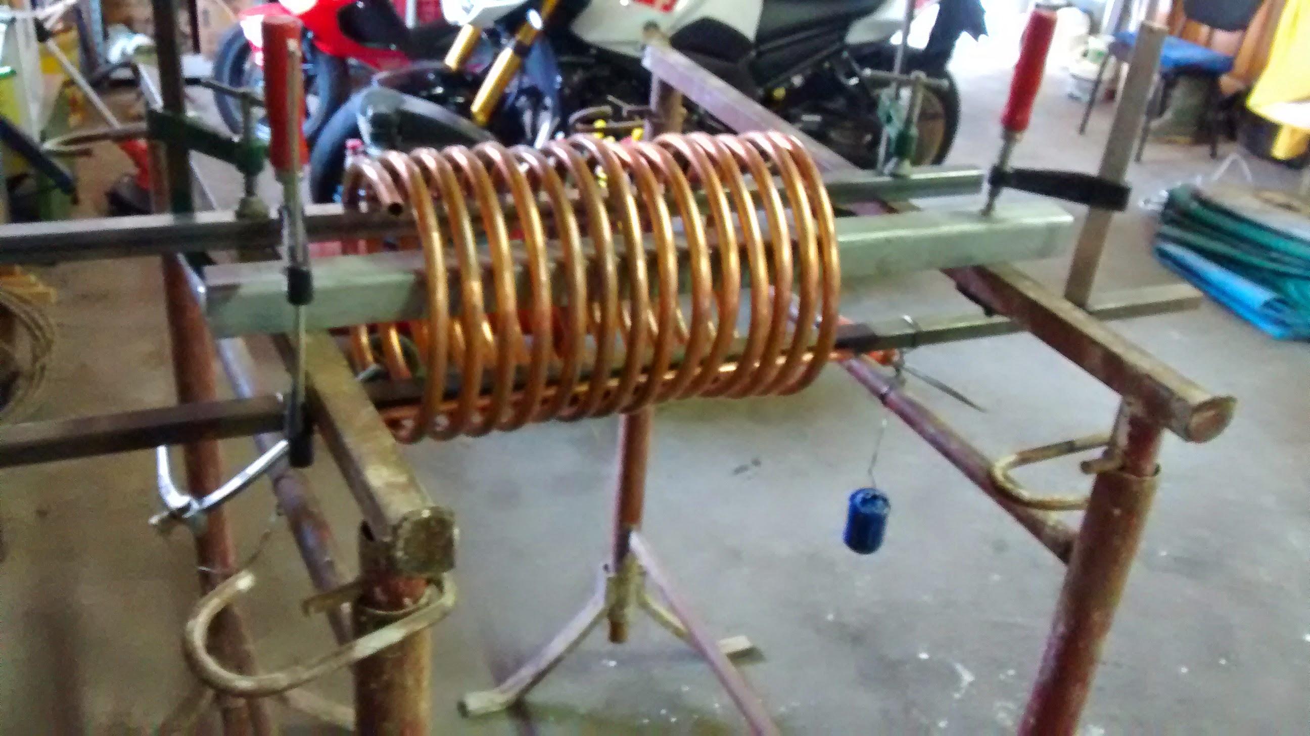 Dissipazione con tubi di rame for Isolamento per tubi di riscaldamento in rame