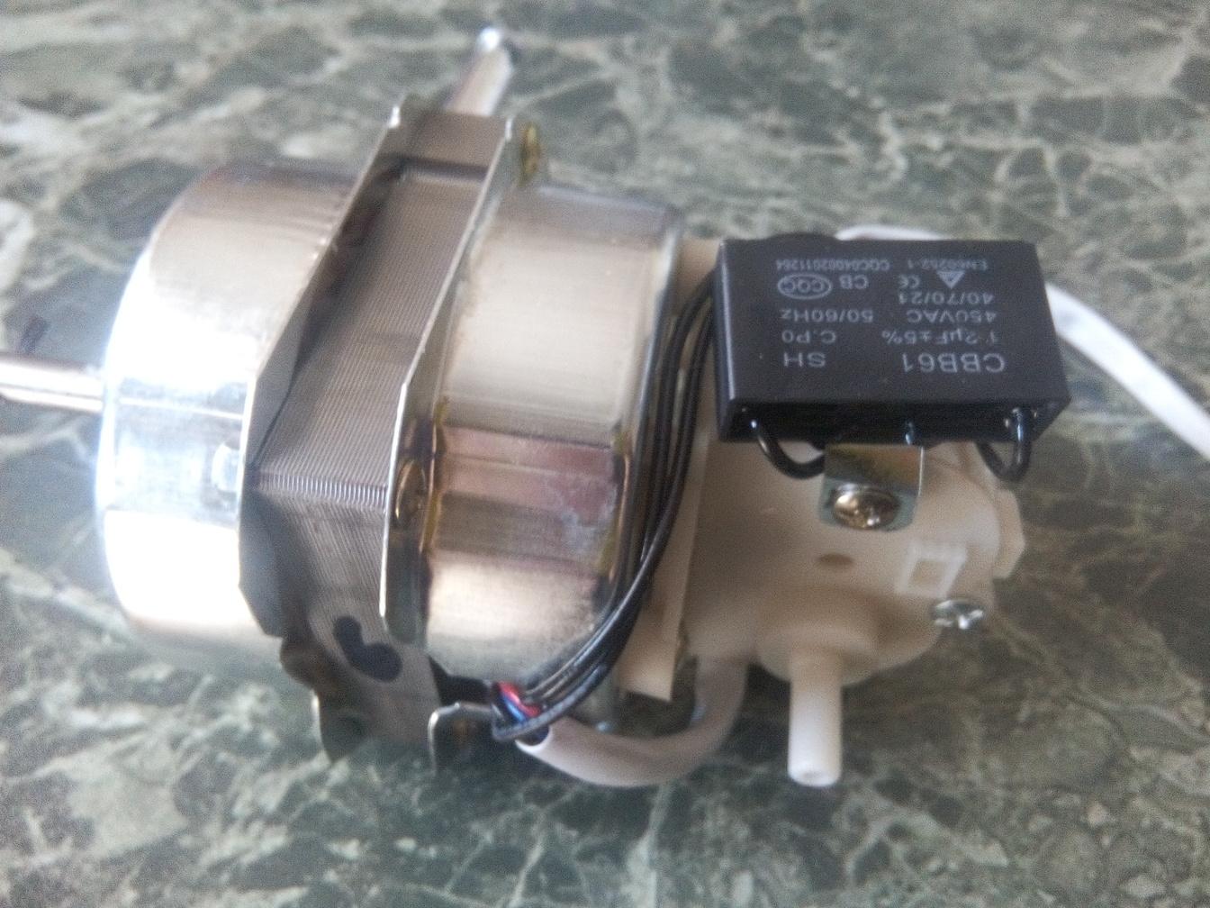 Schema Elettrico Ventilatore Velocità : Motore ventilatore