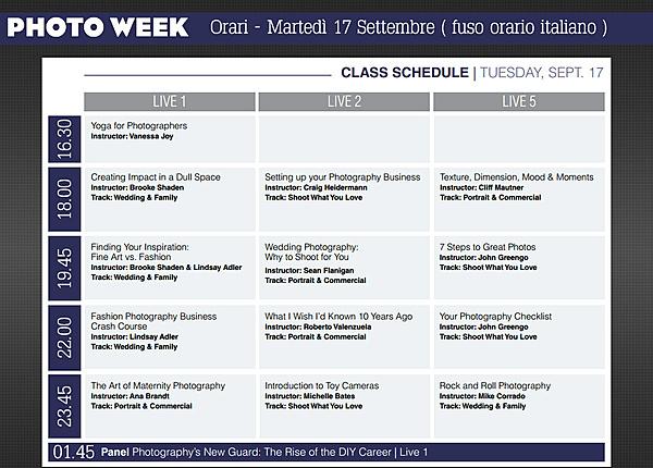 Una settimana di corsi di fotografia gratuiti.-orari_italia_photoweek_17_settembre.jpg