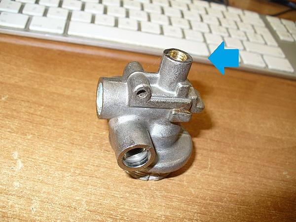 Bombola di aria compressa con vecchio estintore a polvere-p1000493.jpg