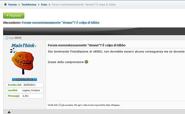 """Forum momentaneamente """"strano""""? È colpa di Gibbo-main_face.jpg"""