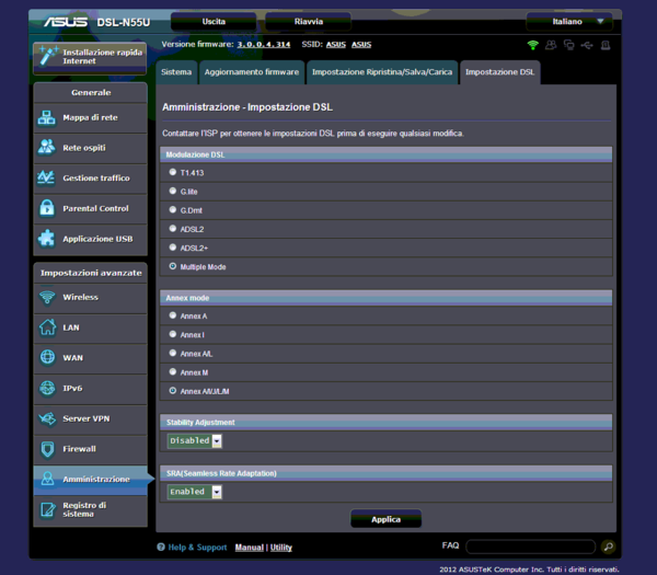 consiglio configurazione modem asus dsl-n55u-1r.png