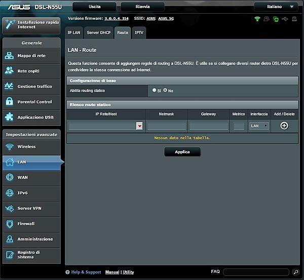 configurazione ASUS DSL-N55U + Switch HP ProCurve 1810G-route.jpg