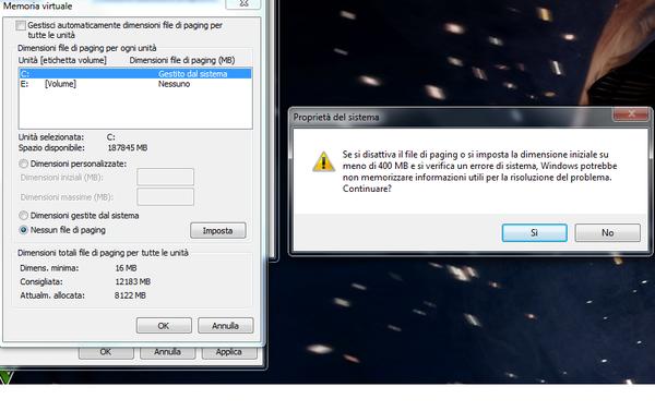 Problema: memoria insufficiente chiudere programmi-immagine.png