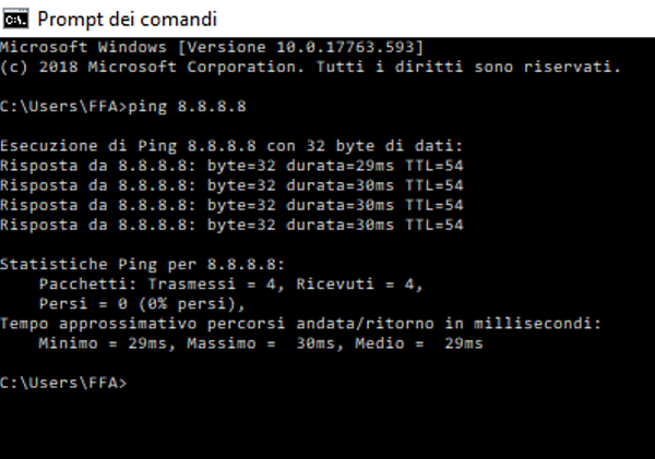 Problema connessione ad internet-ping.png