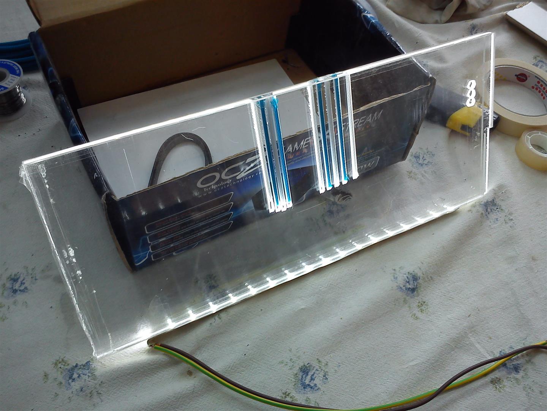 Illuminare Plexiglass Con Led : Info plexiglass illuminazione tangenziale