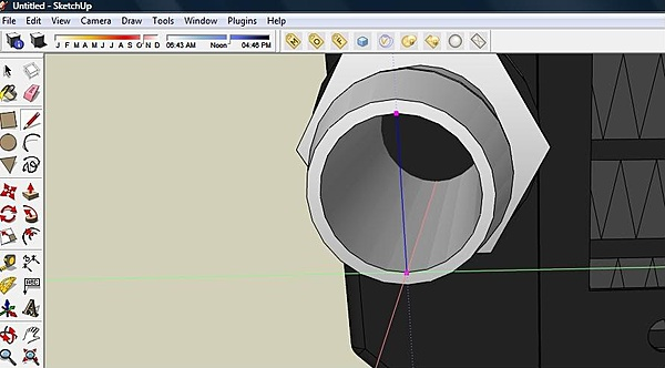 Come creare tubi per watercooling su Sketchup-guide2.jpg