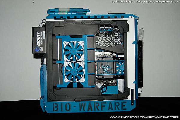 Clicca sull'immagine per ingrandirla  Nome:   Cooler Master HAF X Modding - BIO-WARFARE by masbuskado.jpg Visite: 2049 Dimensione:   144.4 KB ID: 35388