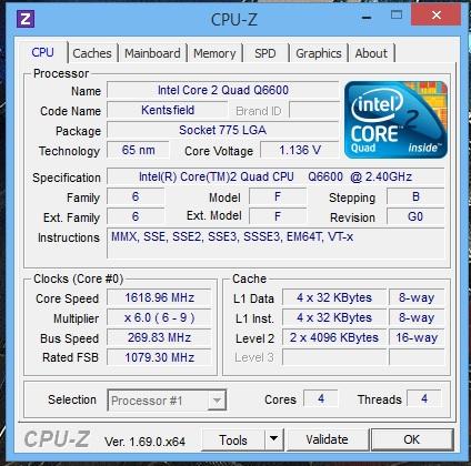 OC per nostalgici: Intel Q6600 su MSI P965 Platinum-immagine.jpg