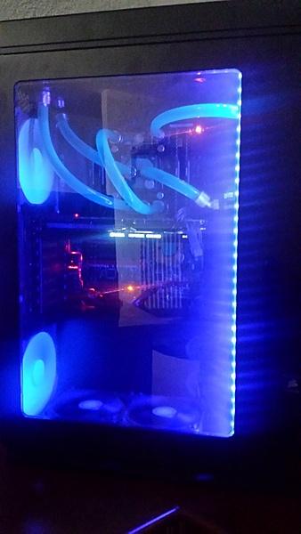 VENDO Scheda Madre Asus Rampage V Extreme e Cpu Intel I7 5960X  8 core OC + Altro-4.jpg