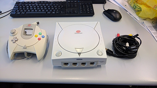 (PV + SS) Vendo Sega Dreamcast modello hkt 5010 (Asian version)-img_20180802_133547.jpg