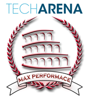 TechArena MAX PERFORMANCE Award