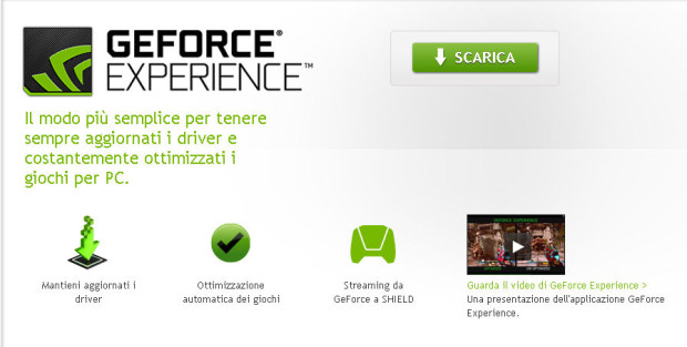 Ge Force Experience