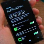 Windows Phone 8.1: nuova immagine del centro notifiche