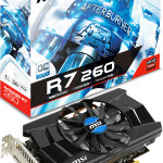 MSI R7 260 1GD5 OC: specifiche tecniche